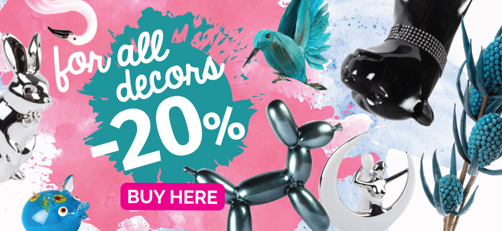 It's Time to Decorate Your Home. Discount for decorations from 20% off