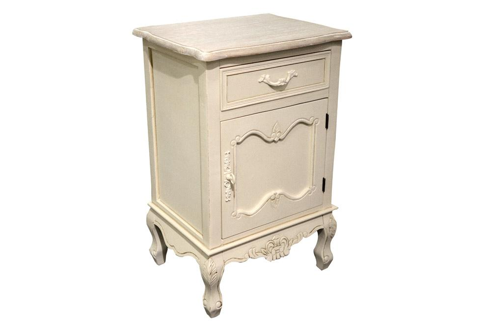 Bedside Cabinet Marseille, 45x35x H70cm