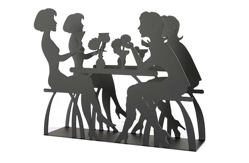 Napkin holder Ladies Dining, H11x15cm