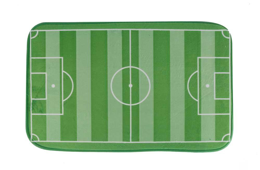 Bath mat Football Field, 45x70cm