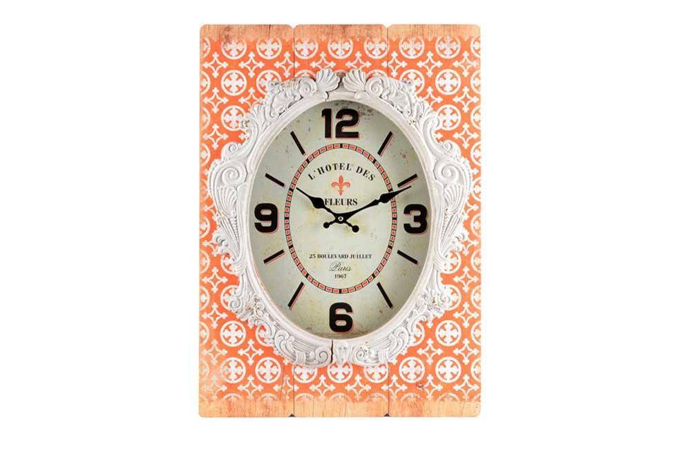 Wall clock Lace, H24x14x6cm