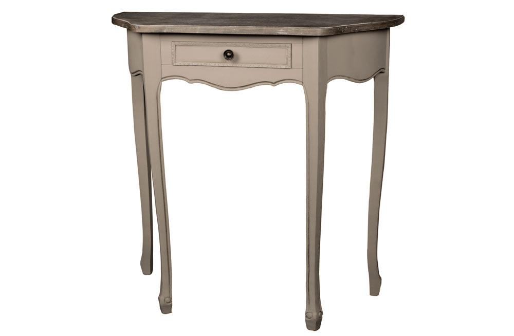 Console with drawer Monika, 80x35x H79cm