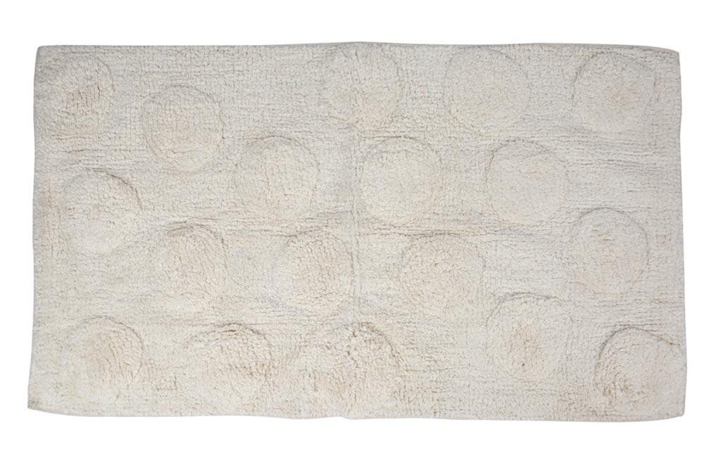 Bath Mat Iround, white 60x100cm