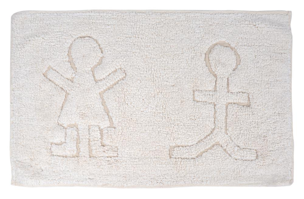 Bath Mat Ipair, white, 50x80cm
