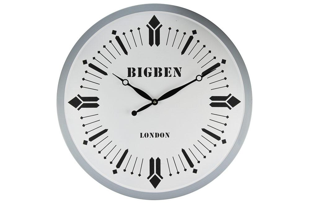 Iron wall clock Bigben, Ø-58cm
