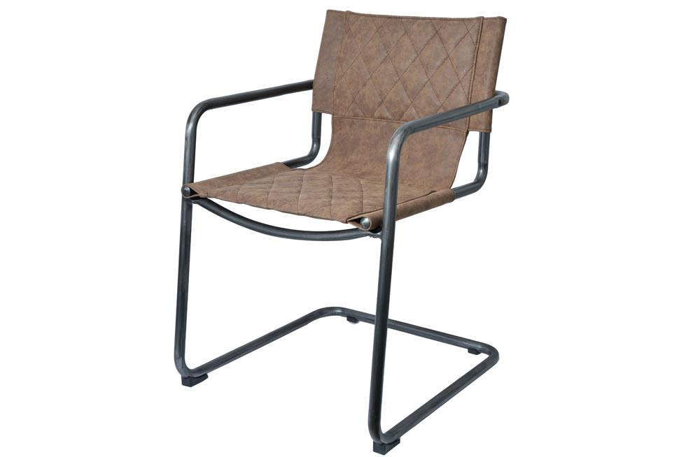 Chair Paku Vintage Brown 55x61x83cm Chairs Alandeko
