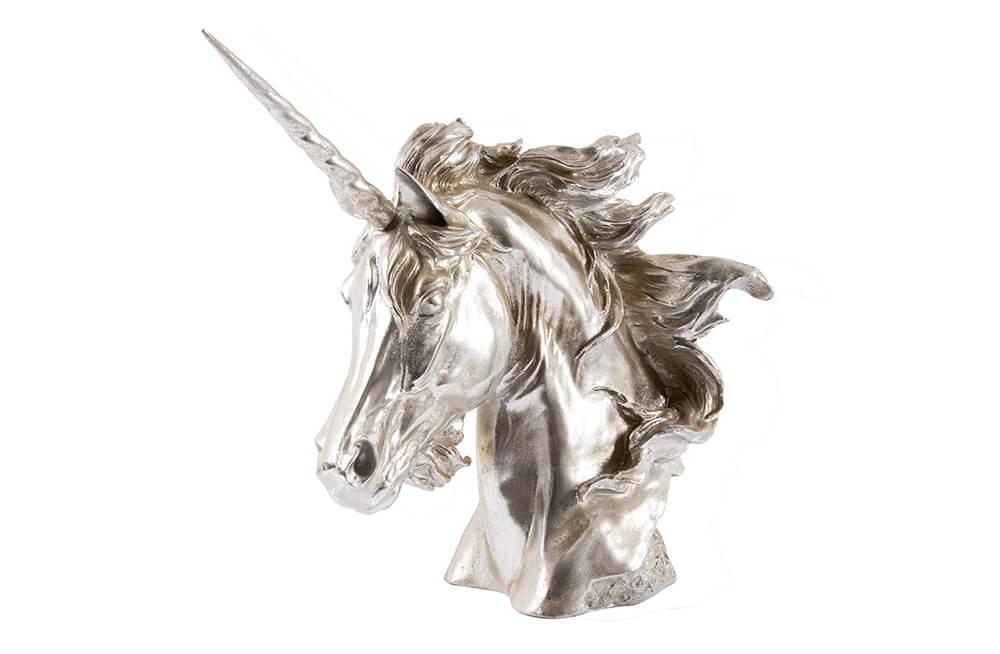 Decorative Figurine Unicorn, H45x50x19cm
