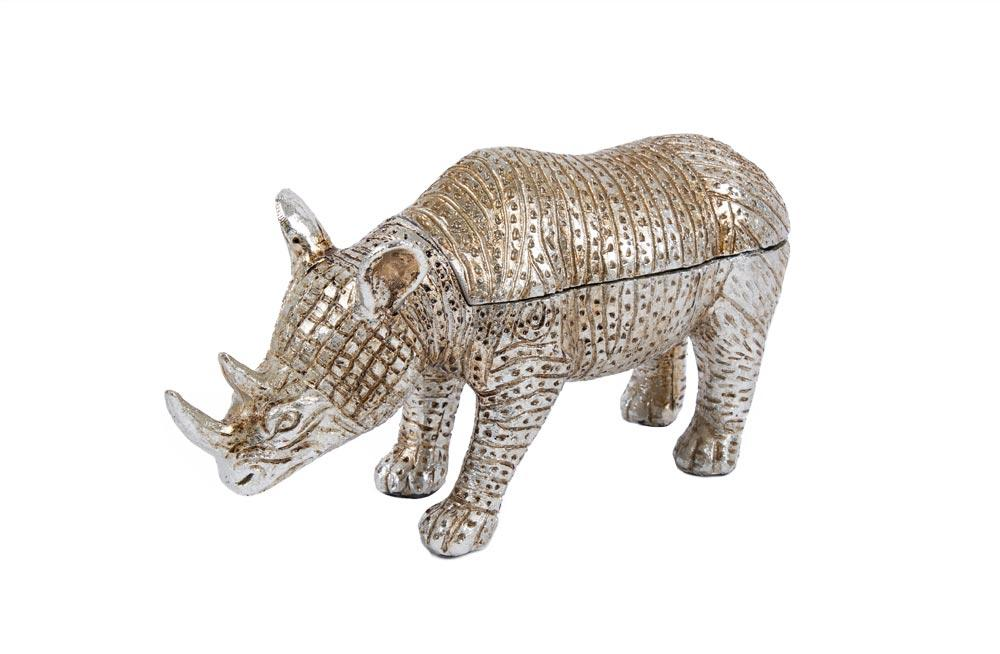 Decorative figure Rhino, 26.5x13.5x9cm