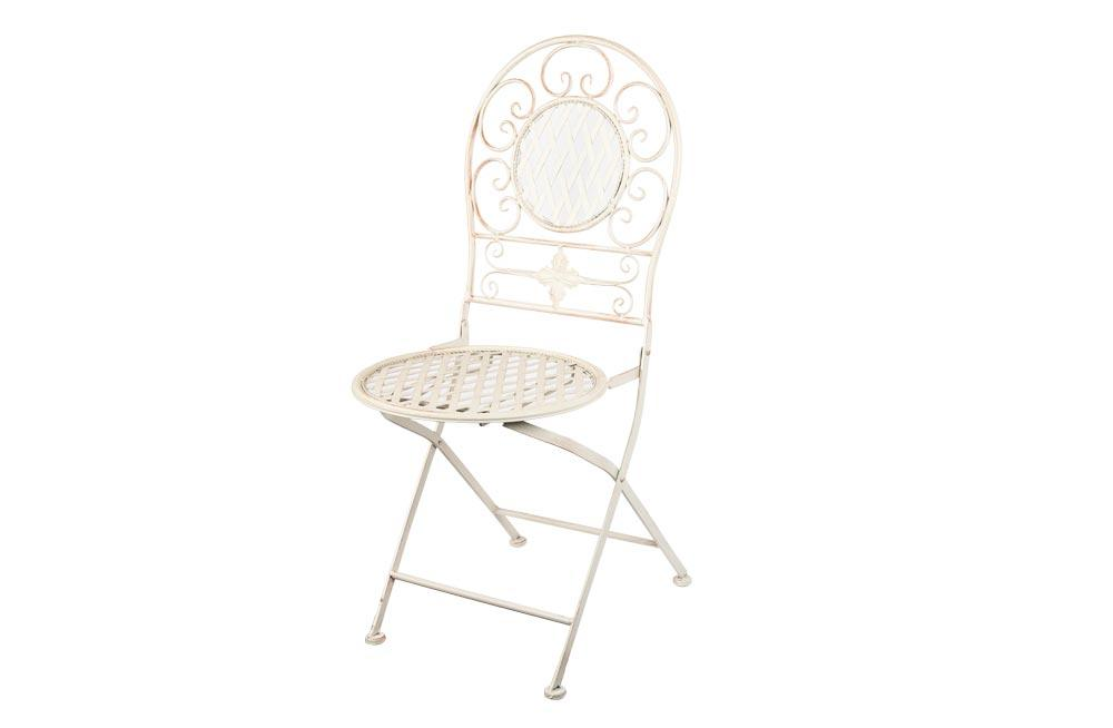 Bistro chair Madelina A, antique/cream, 39x48x95cm