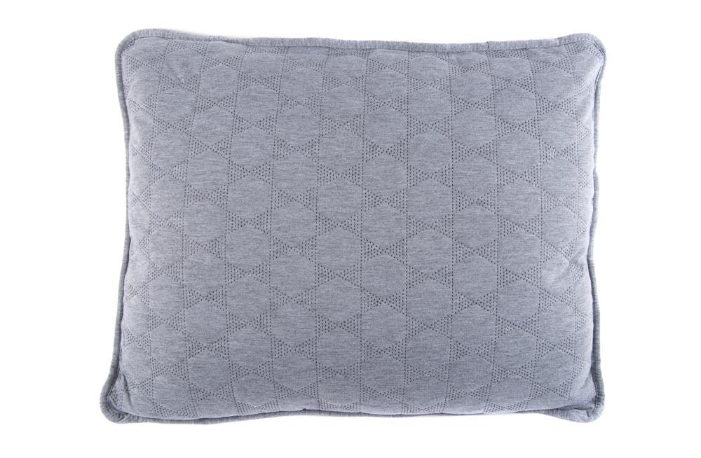 Decorative Pillow Saimona, grey, 50x60cm