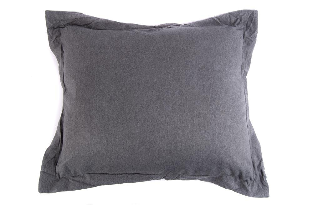 Decorative Pillow Sagita, grey, 50x60cm