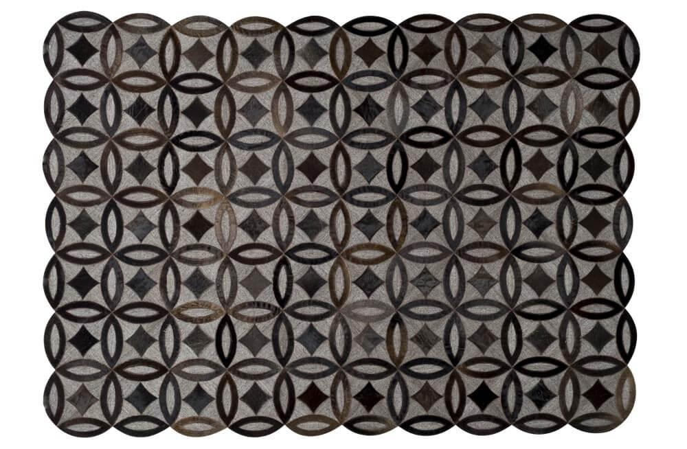 Carpet Egita grey/brown, 160x230cm