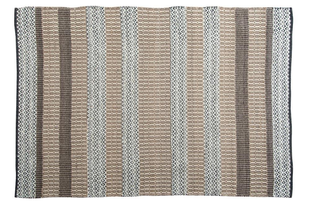 Area Rug Bacon Taupe, 160x230cm