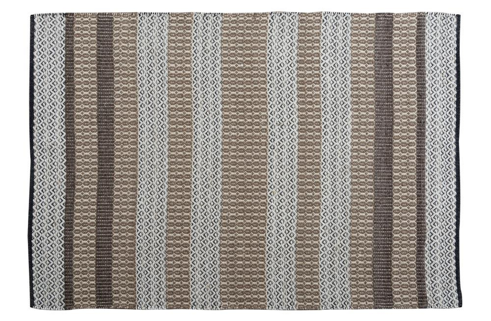 Area Rug Bacon Taupe, 140x200cm