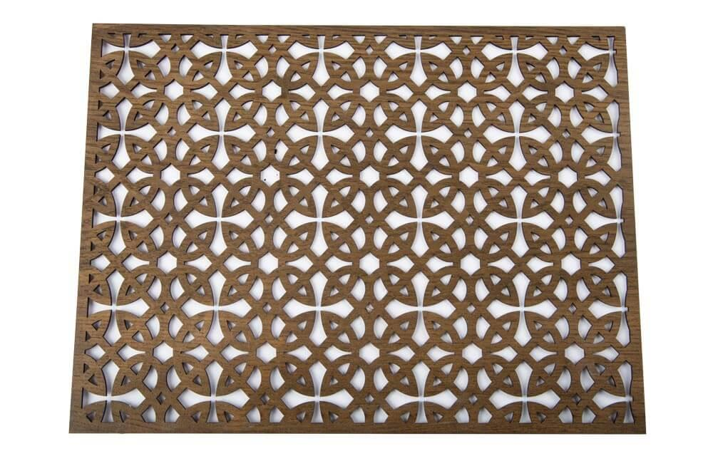 Placemat Alota, dark brown, 30x45cm
