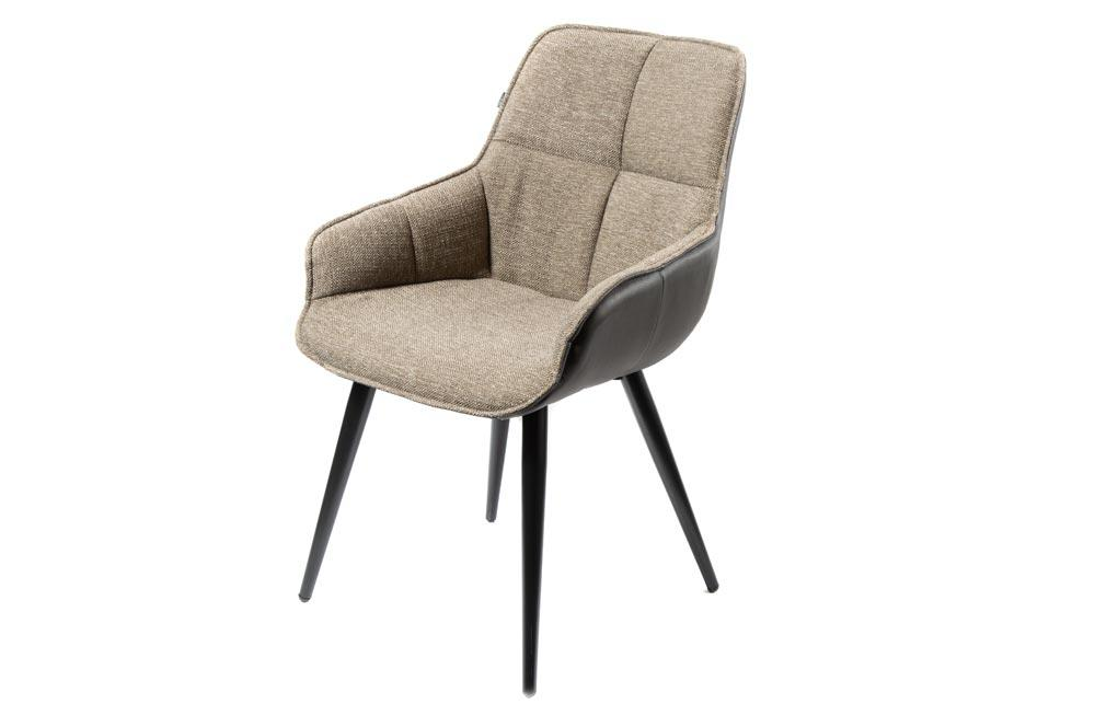 Chair Sourton, grey, 58x62x86cm, seat H-40cm