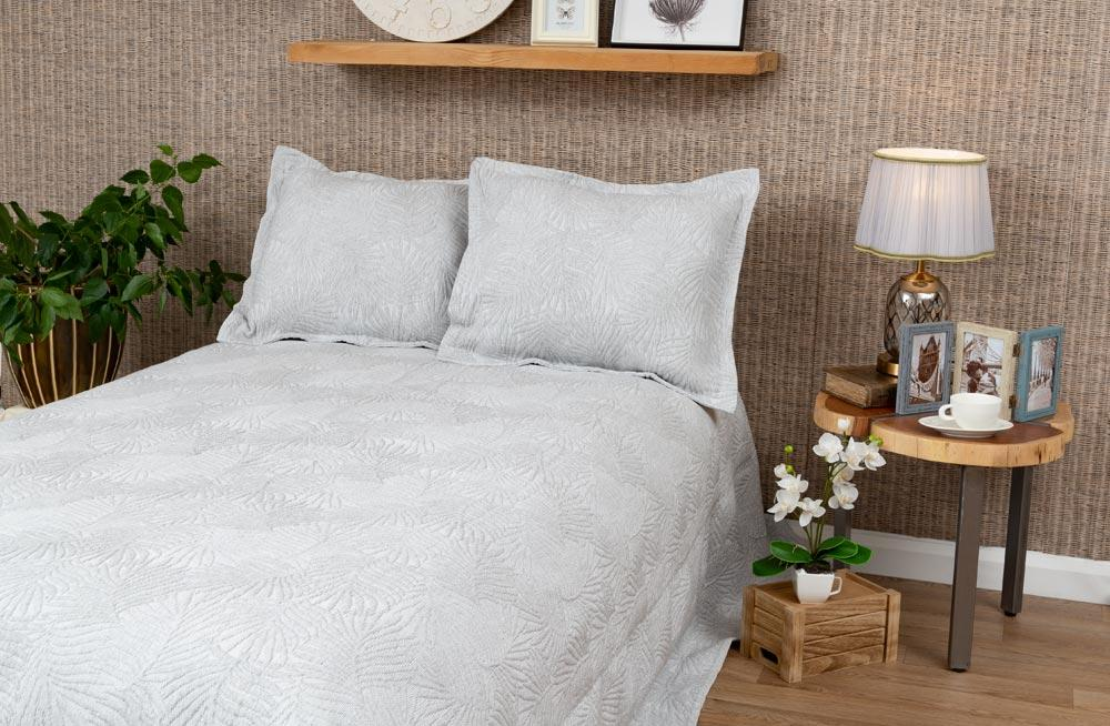 Bed cover Bracken, grey, 220x260cm