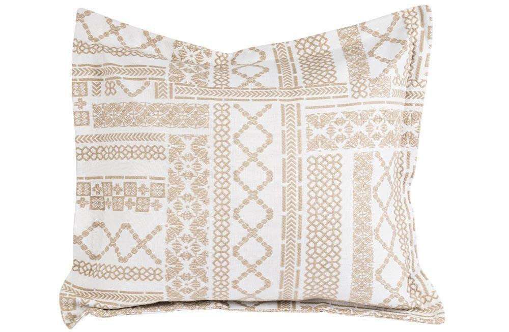 Decorative Pillowcase ADN, linen color,50x60cm