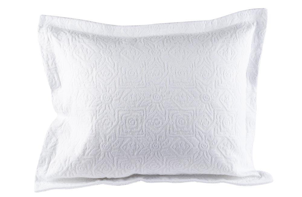 Decorative Pillowcase Tijuana, white, 50x60cm