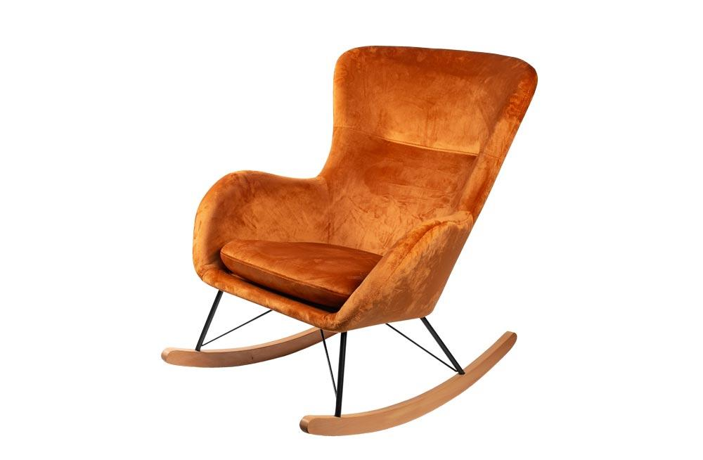 Rocking chair Amadeus, fox, H97x76x103cm, seat height 42cm