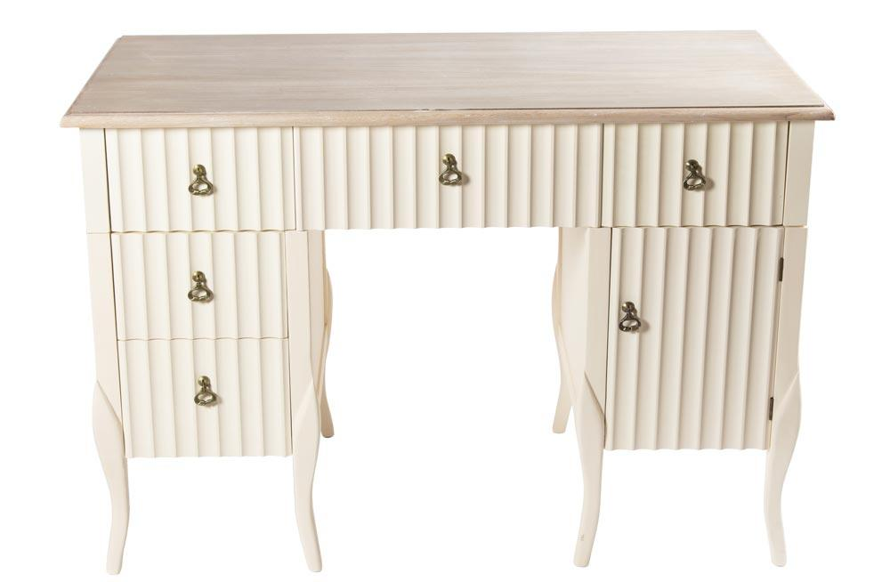 Writing Desk Monako, off white, 120x60x80cm