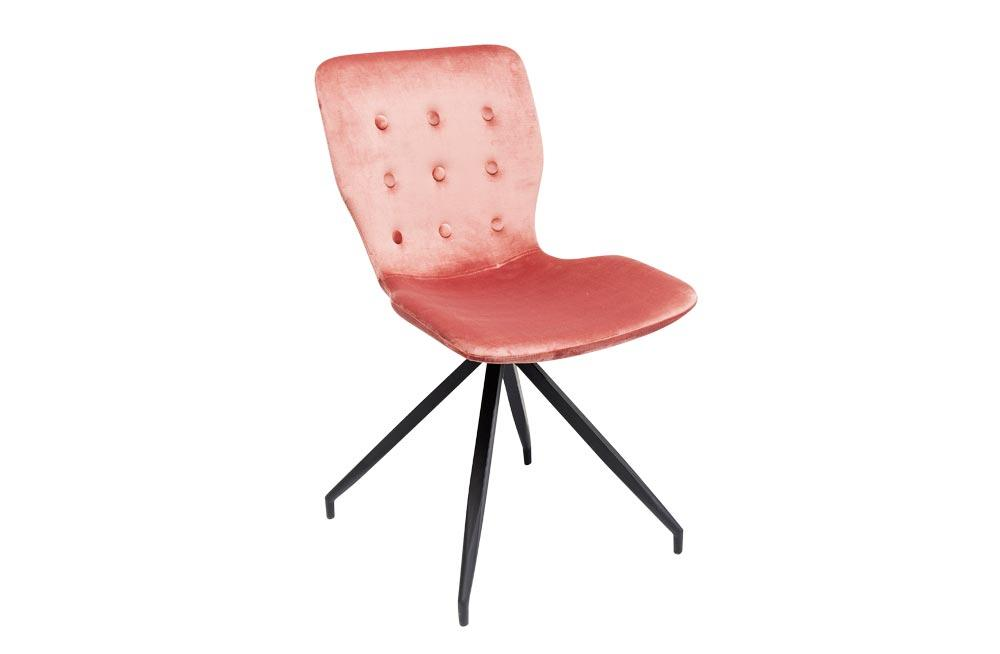 Chair Butterfly, pink, 84.5x47x56.2cm, seat height 47cm