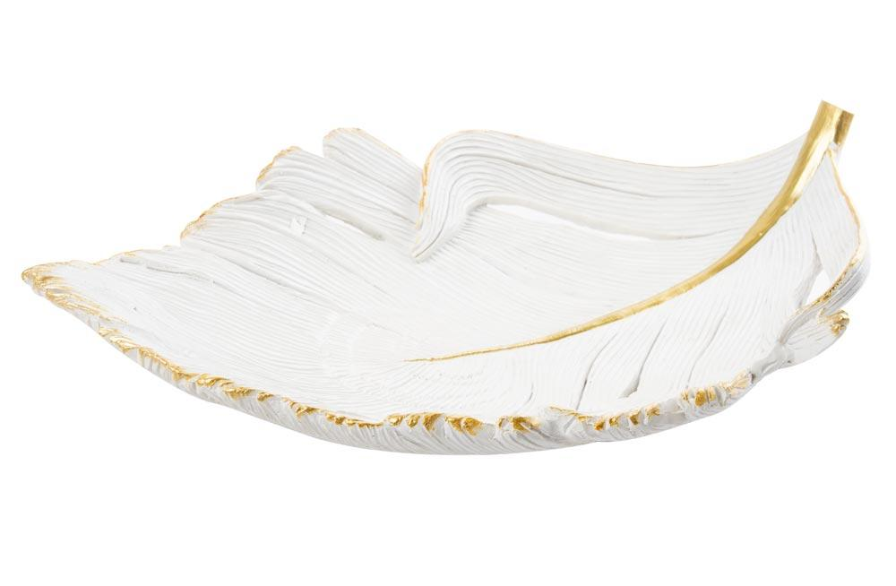 Decorative dish Leaf, 32x20x5.5cm