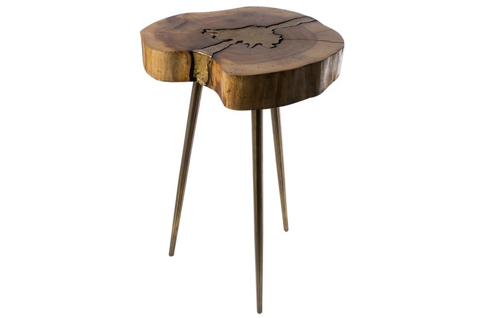 Side table Ashley, wood, 28x36x36cm