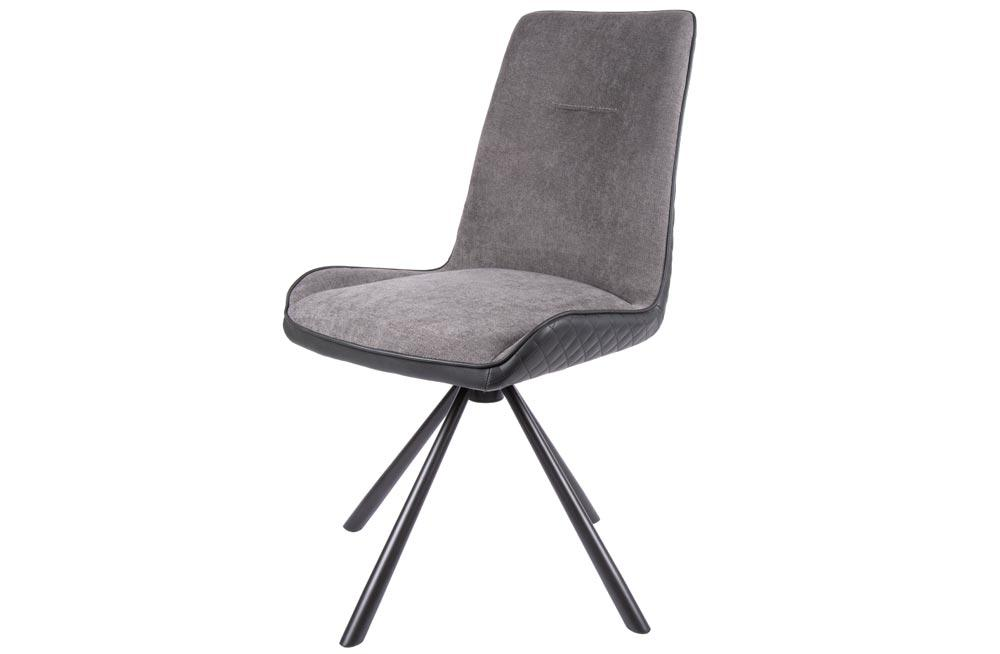 Chair Dallas 360 swivel, taupe, 60x50x90cm, seat height 48cm