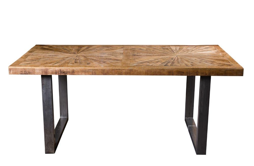 Mango wood dining table Sole, 180x90x76cm