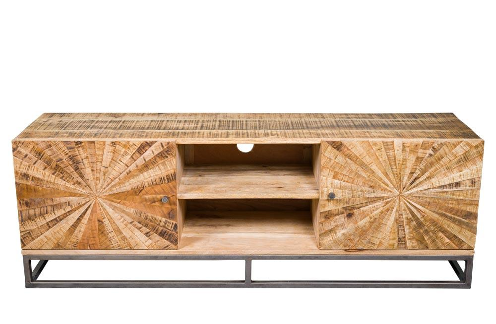 TV board Sole, Mango wood, 145x36x50cm