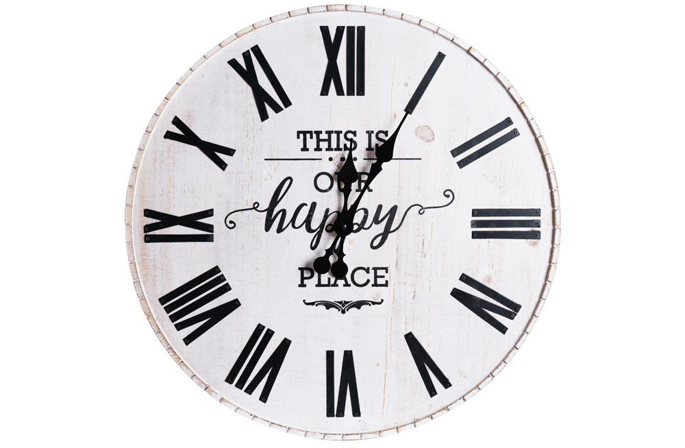 Wall clock This is our place, D58x4.5cm