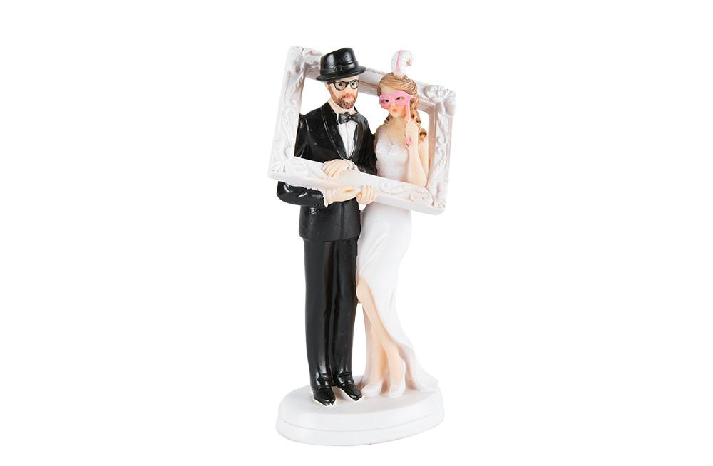 "Wedding figurine""Photobox"" H18cm, W10cm"