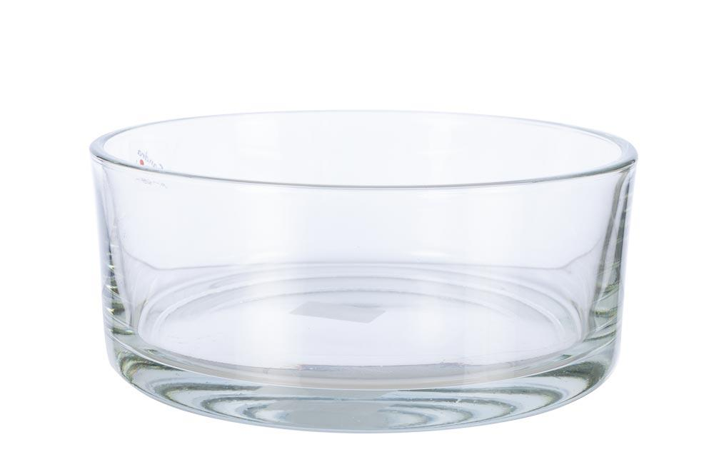 Bowl Round, clear, H8.0, D19.0cm