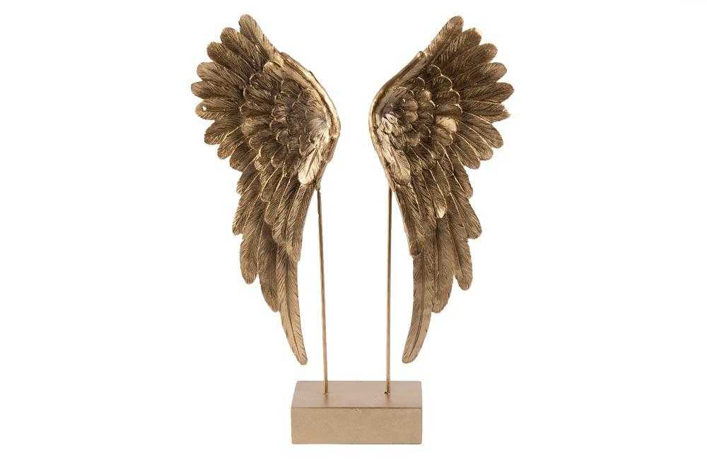 Decor Angel wings Cosmo, H40x27x7.5cm
