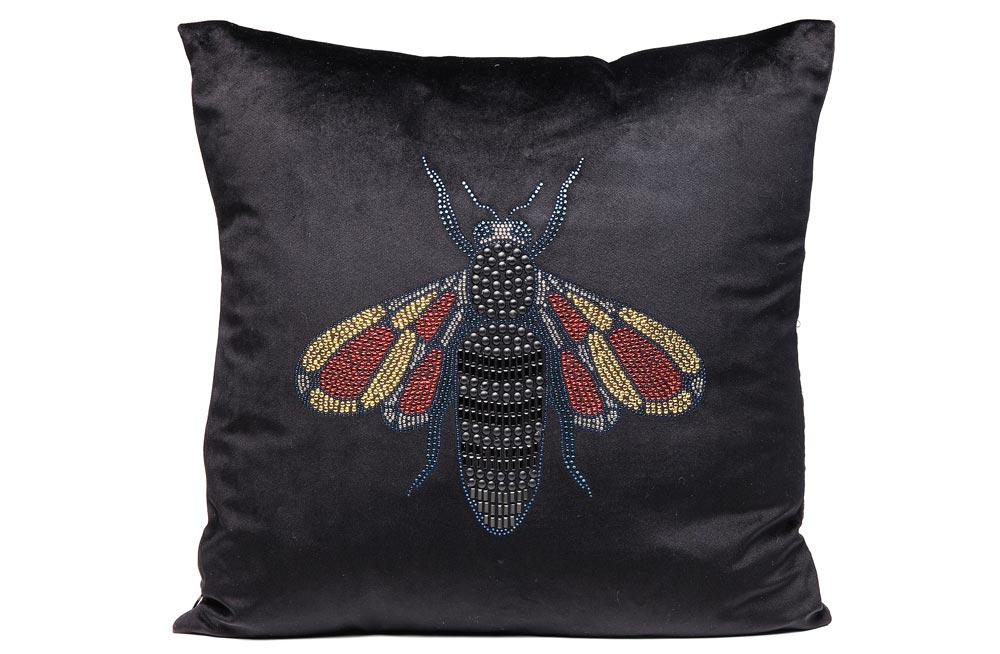 Cushion Fashion Bee, 45x45cm