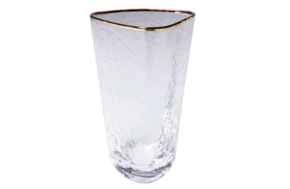 Long drink glass Hommage, H14.3x9x9cm