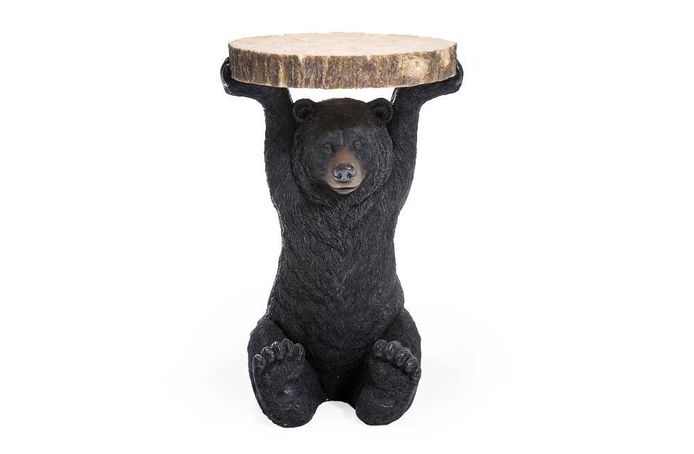Side table Bear, H58cm, D40cm