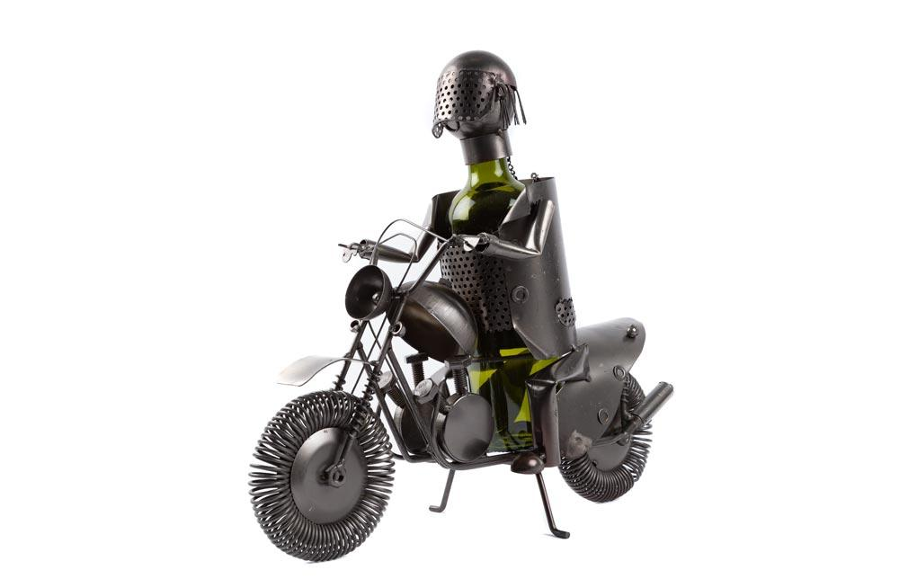 Metal bottle holder Biker II, 38x27cm