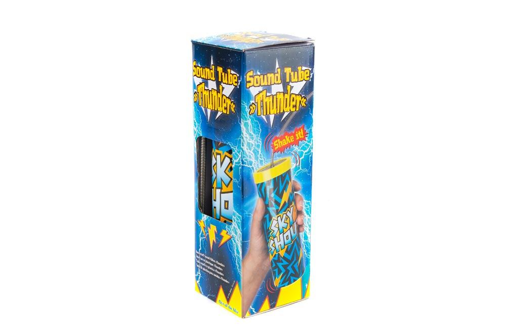 Plastic sound tube Thunder, 18x6cm
