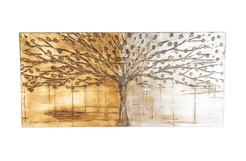 Oil wall painting Tree, 150x70cm
