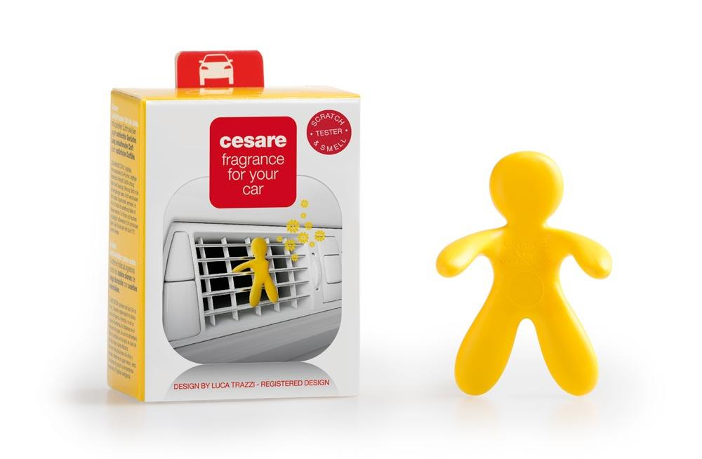 Car air freshener Cesare Yellow Vanilla