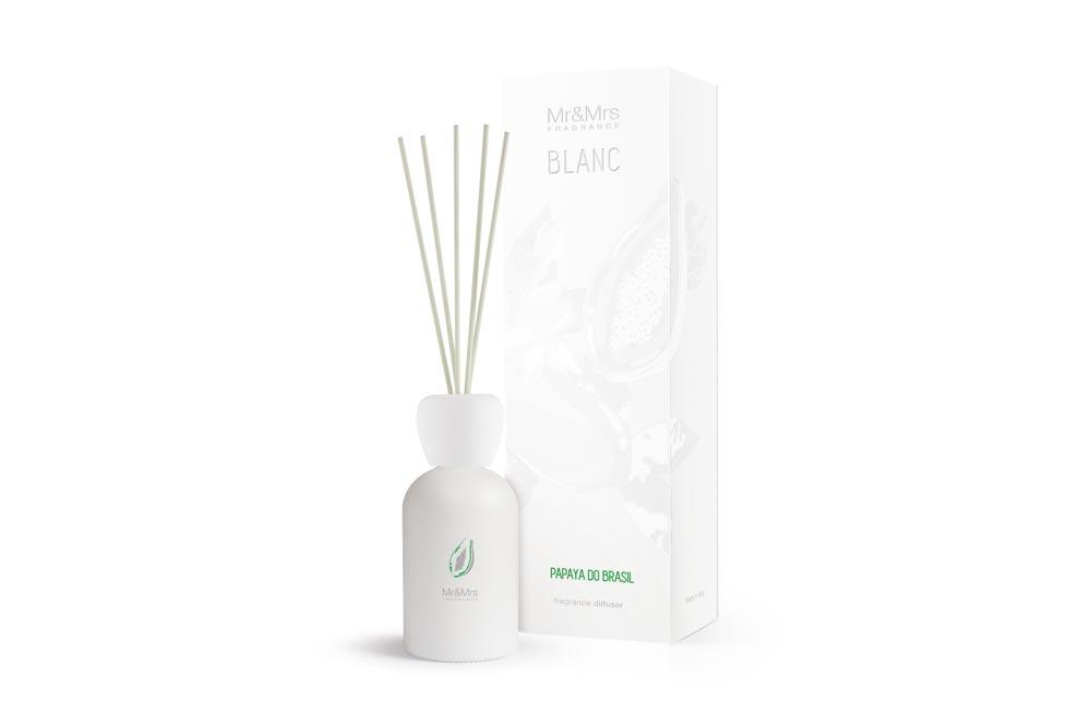 Reed diffuser BLANC Papaya of Brazil, 250ml
