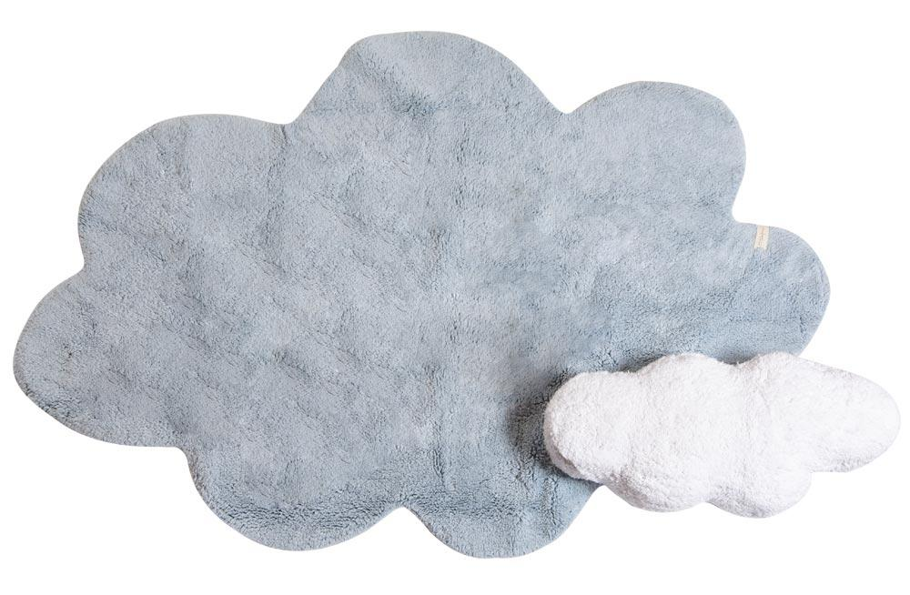 Vaip Puffy Dream, sinine, pestav, 160x180cm
