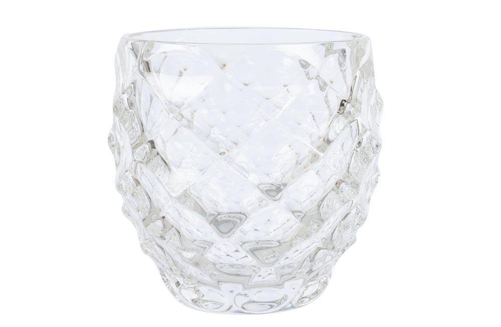 Crystal glass Morris, 340ml, H9.5cm, D-8.5cm