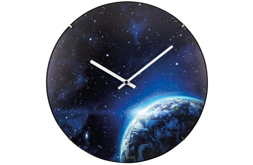 Wall clock Dome Luminous, Ø-35cm