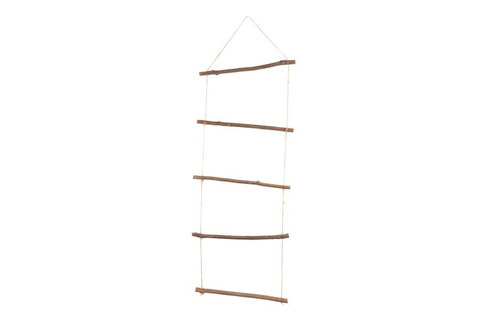 Decorative rope Ladder 50x150cm, 5 branches/rope