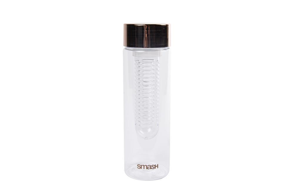 Fruit infuser with rosegold lid,  400ml, H-23,5cm, D-7cm
